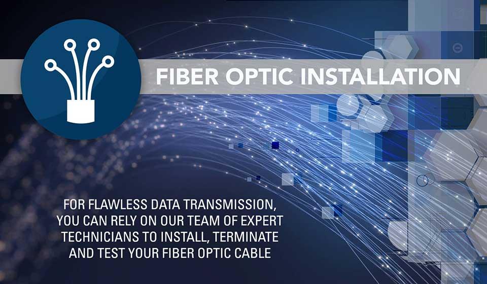 Fiber Optic Installation